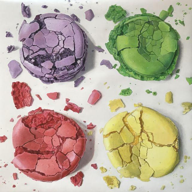 Abstraction de macarons III