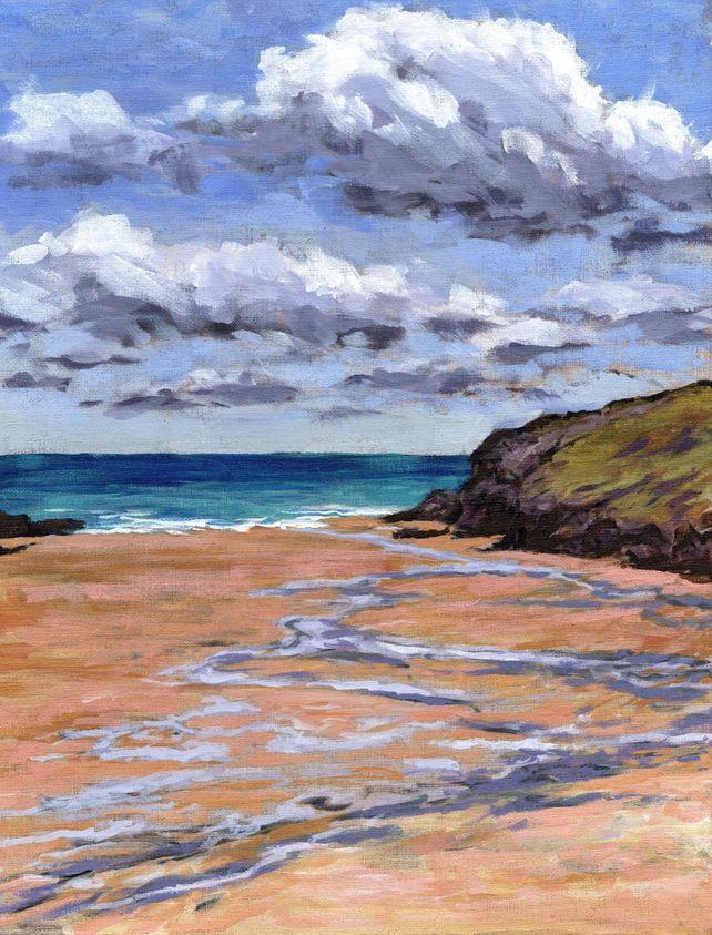 Cornwall, Porthcothan Bay