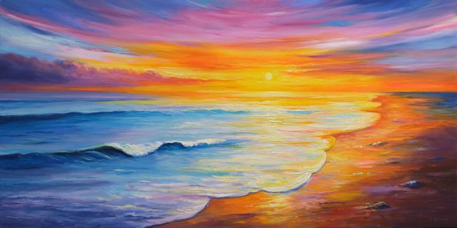 Sunset Seascape II