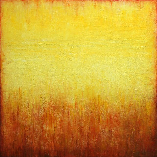 Yellow Abstract Painting II