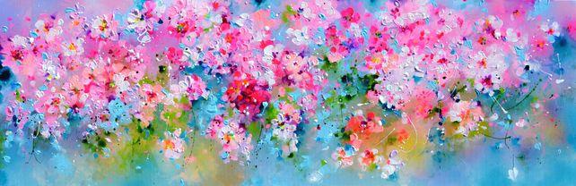 I've Dreamed 28 Sakura Pink Cherry Tree Colorful