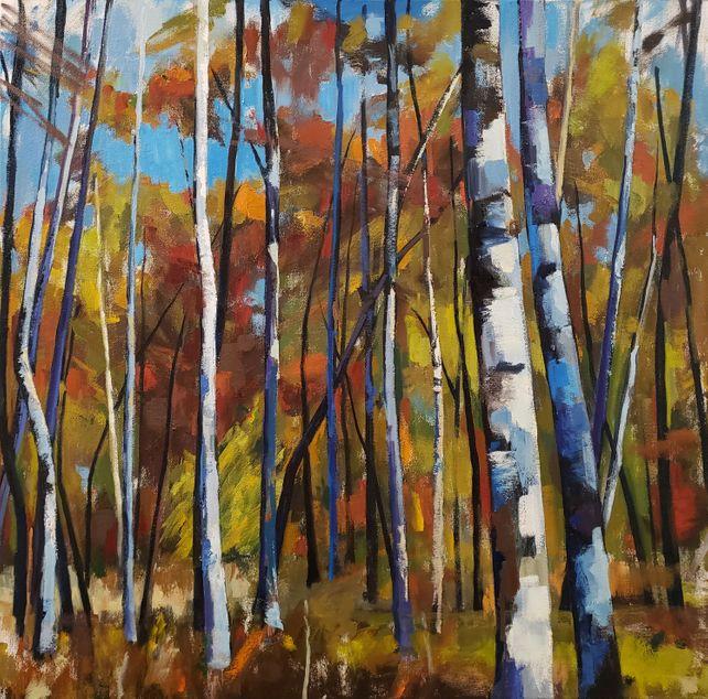 Birch Forest XII