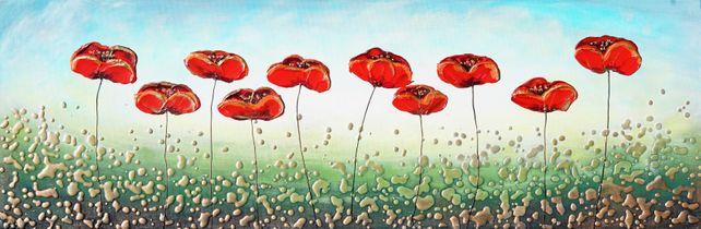 Ten Poppies
