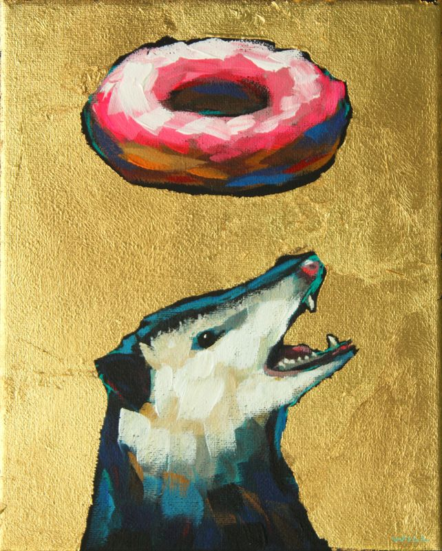 Donuts Will Save The World (Opossum)