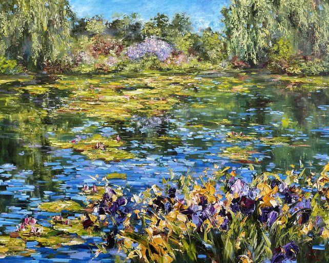 L'étang à Giverny