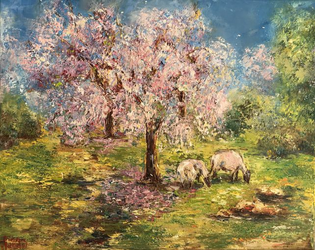 Under the Almond Tree
