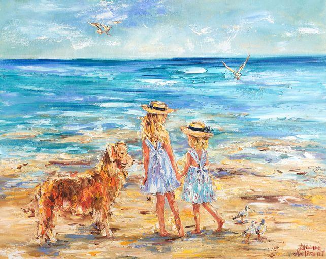 Promenade sur une plage