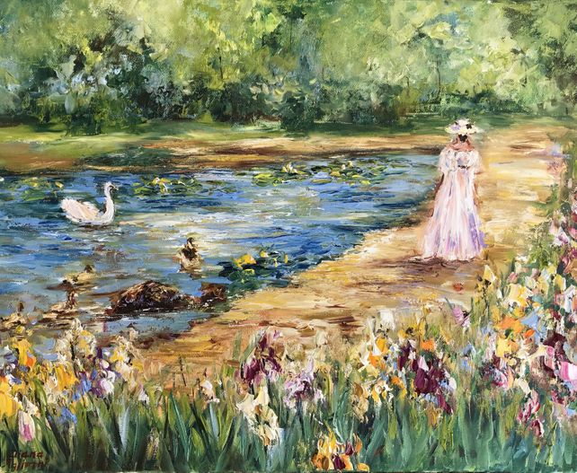 At the Pond
