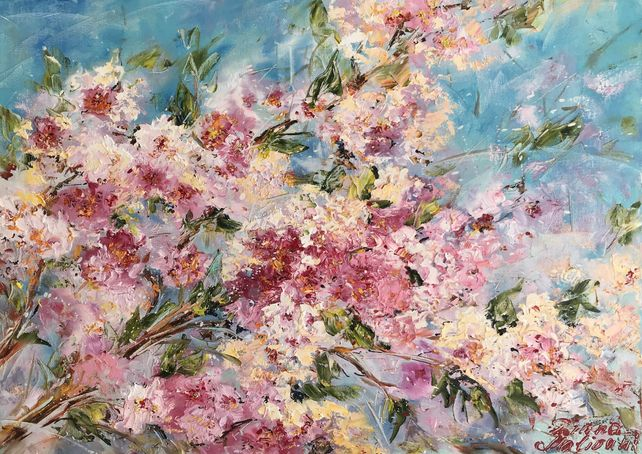 Bloomy Peach Tree