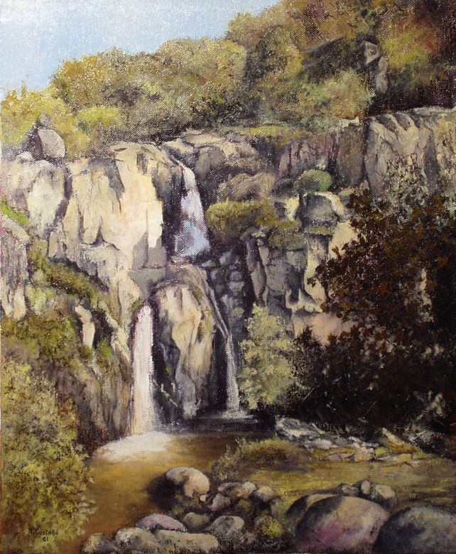 Waterfall of Cicutina