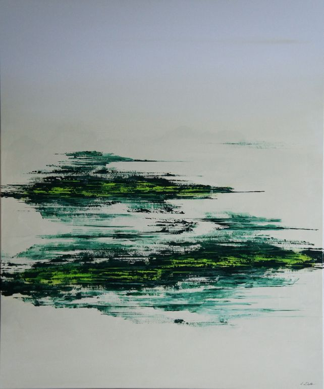 Wide Open Green (100 x 120 cm) XXL (40 x 48 inches