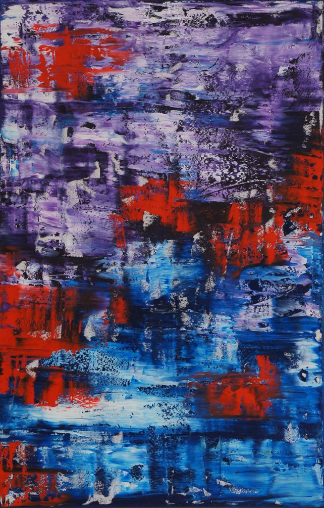 Violent Red (116 x 75 cm) XL (46 x 30 inches)