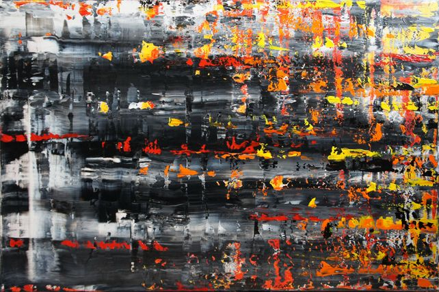 Burning Memories (120 x 80cm) XXL (48 x 32 inches)