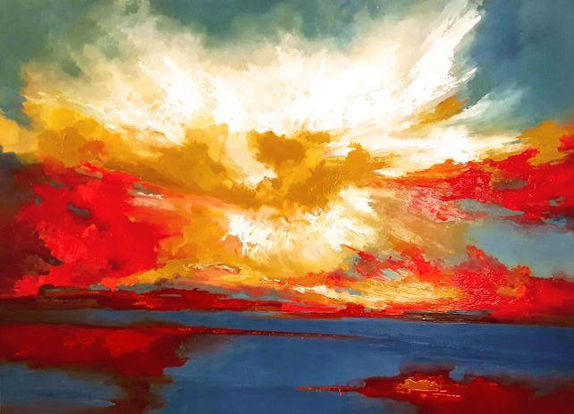Sign of scarlet heavens