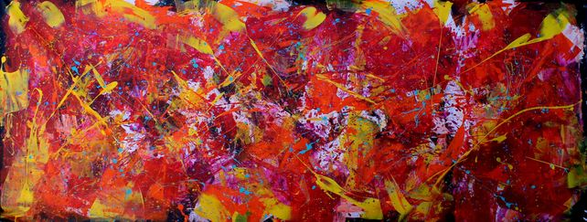 Nature vs. Landscape - Oversize XXL Abstract Paint