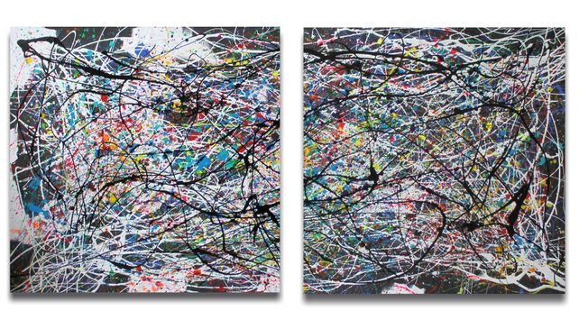 GUESS THE THOUGHT-DIPTYCH