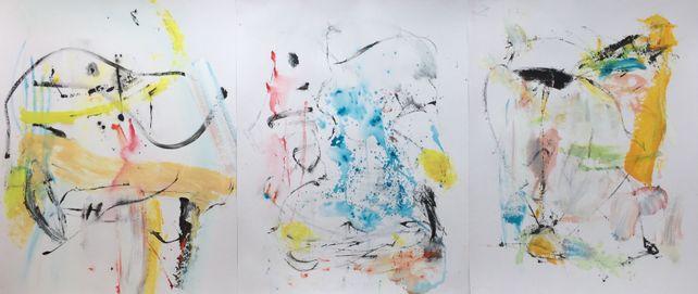 Mikado (Triptych)