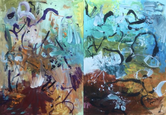 You Are Always on my Mind (Diptych)