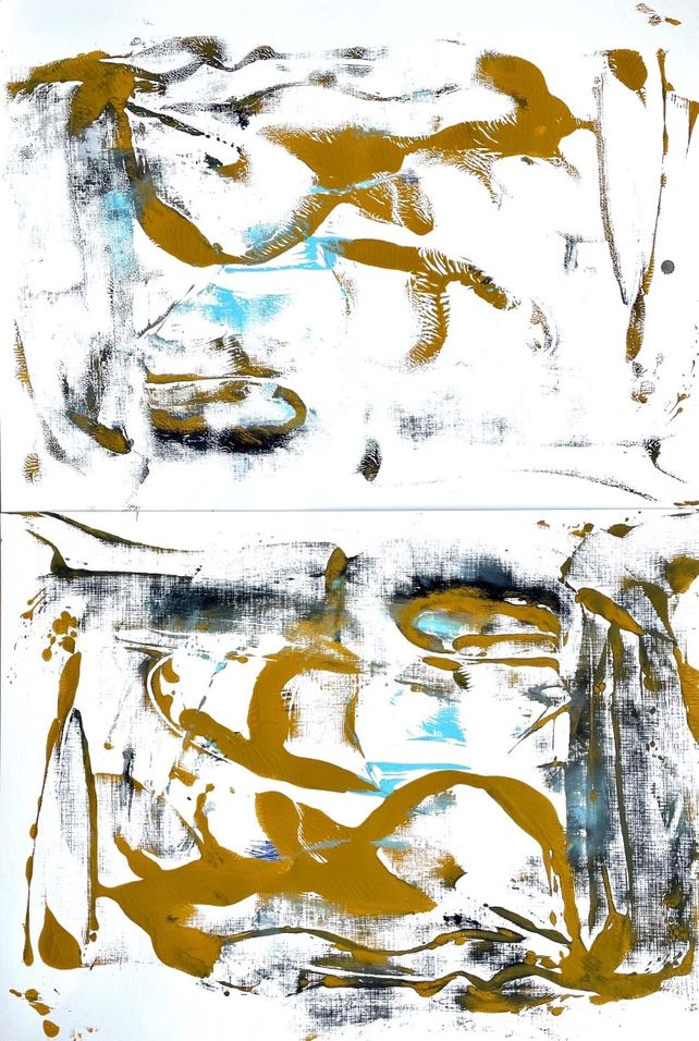 On a Monday Morning (Diptych)