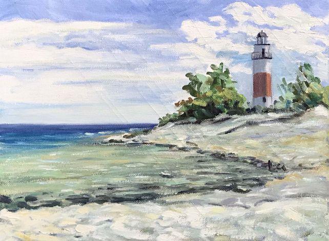 Lighthouse, Middle Island