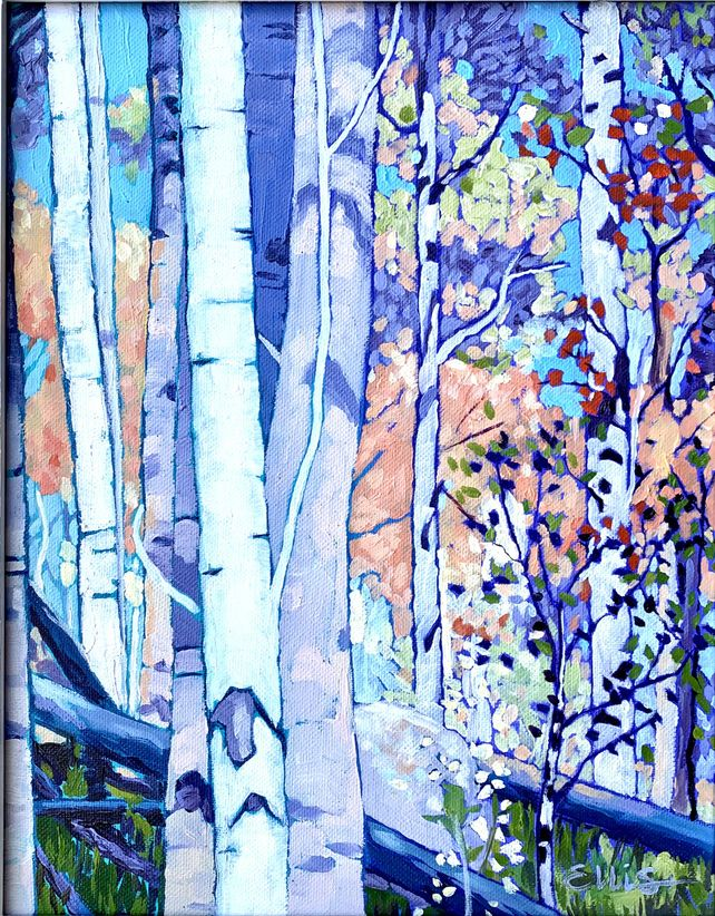 Stand of Birches #1