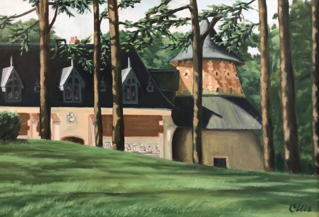 Stables at Chaumont, the Loire Valley