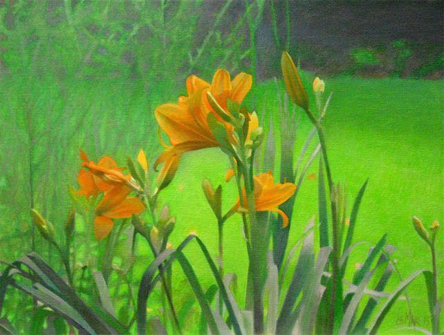 Yellow-Orange Lillies