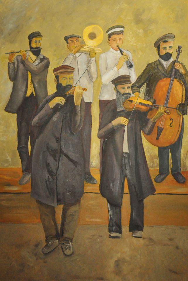 Klezmer musicians
