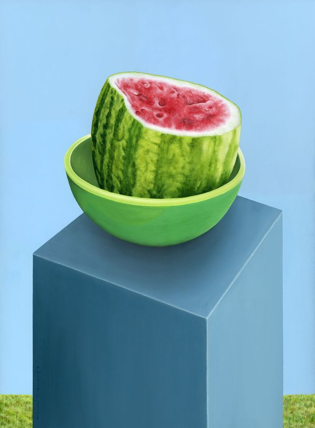 Watermelon on a Stand