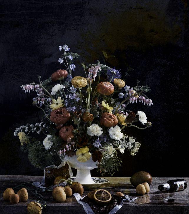 Baroque Flowers II