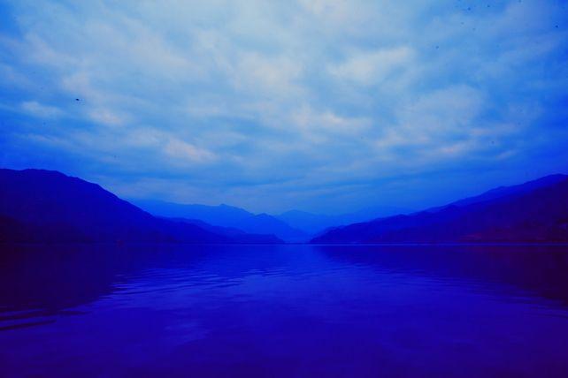 Dark Blue Lagoon