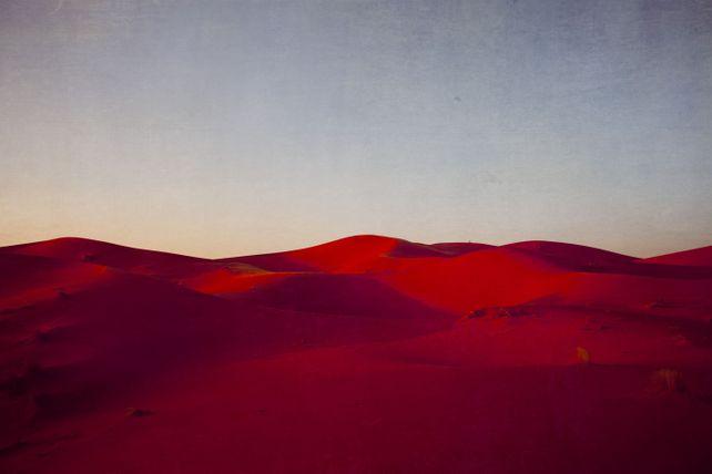 Sunset on the Sahara I