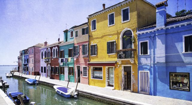 Colors of Burano V