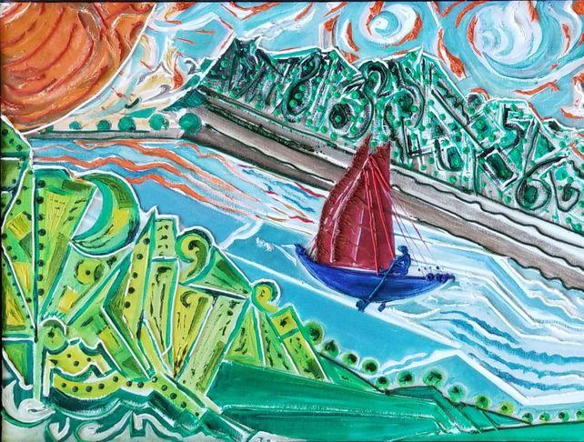 The Blue Boatman