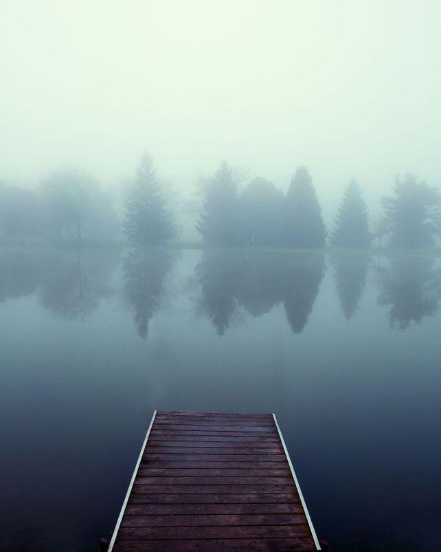Dock in the Mist