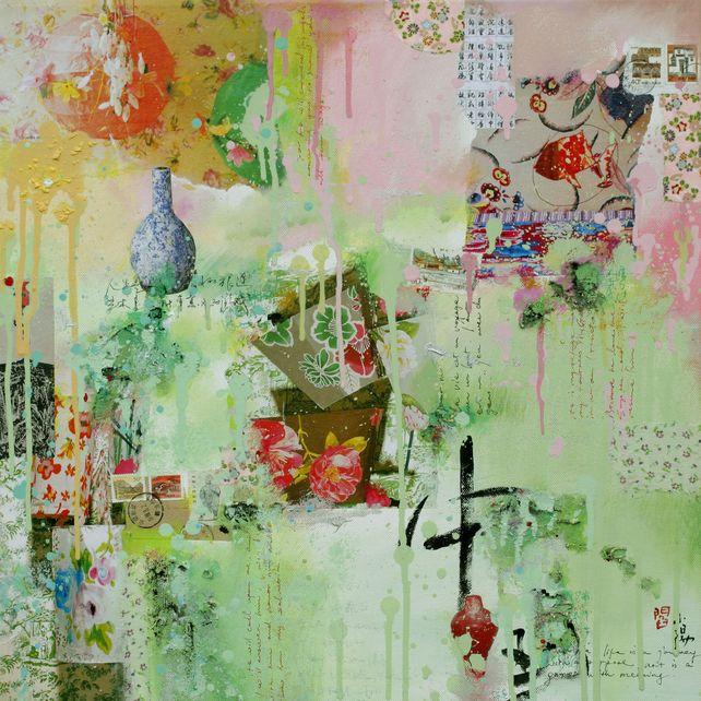 Jardin chinois - Fine art giclée print