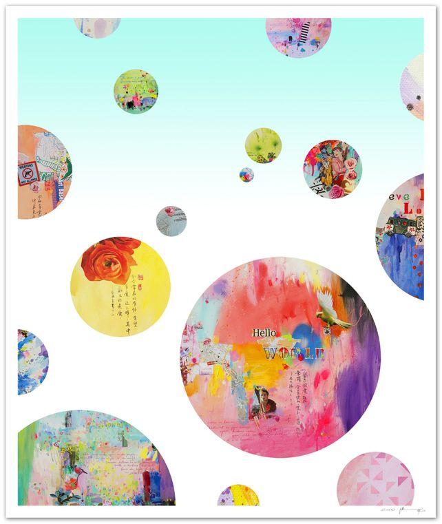 Hello world II - Fine art giclée print