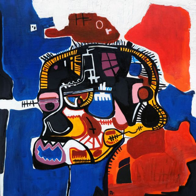 After Jean-Michel Basquiat