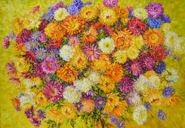 Asters and Chrysanthemums