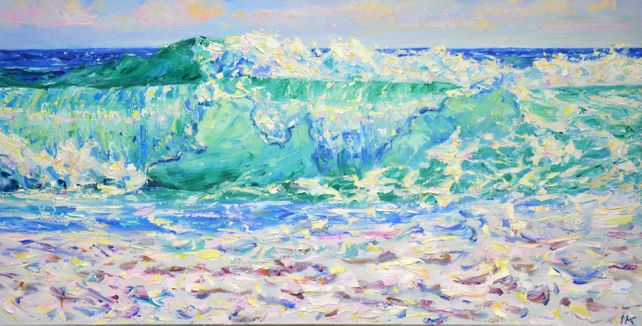 Ocean. Waves.