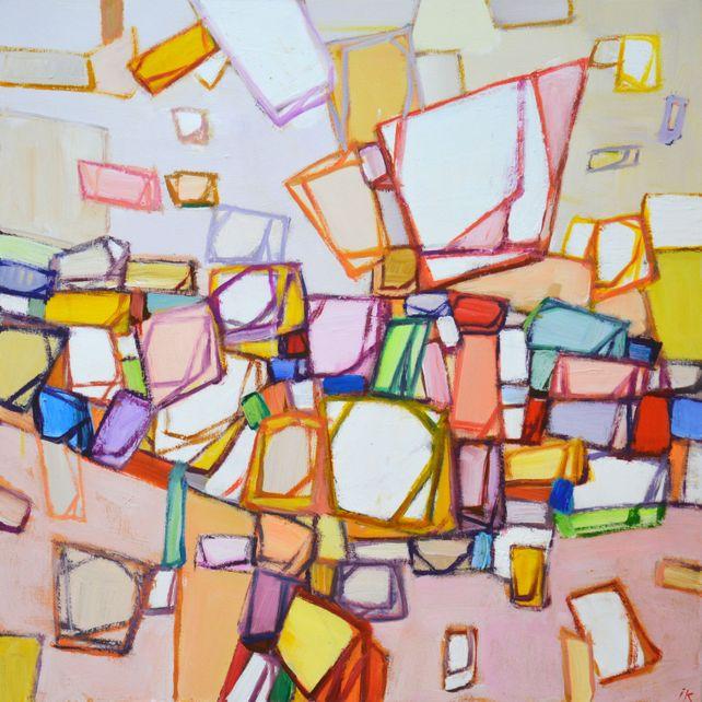 Colored maze.