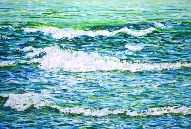 Waves. Waves.