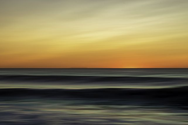 The Sea Yawned