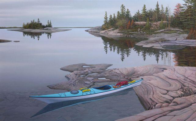 Lone Kayak