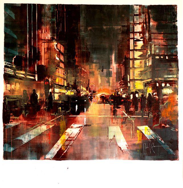 Berlin sea of lights II