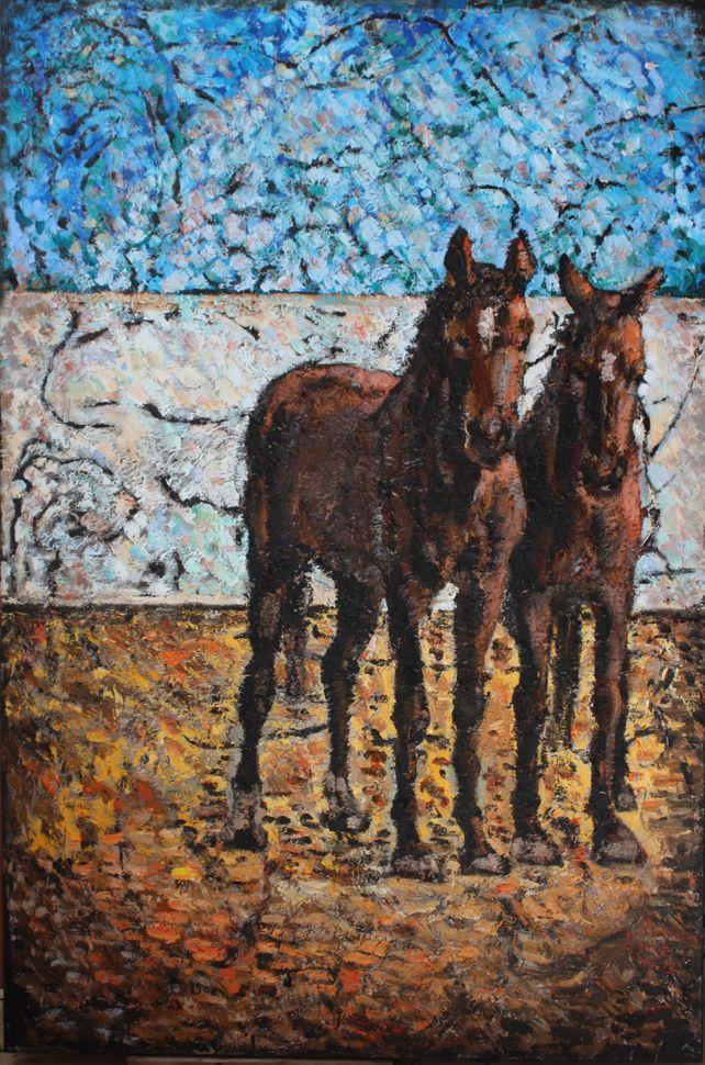 Horses in Villacana