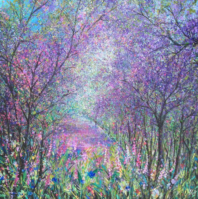 Lilac Woodland