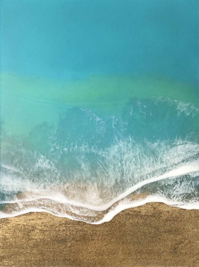 Teal Waves #2