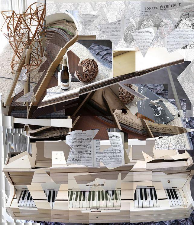 Beethoven - Sonata Pathetique - photo collage