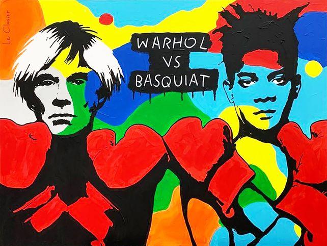 WARHOL VS BASQUIAT
